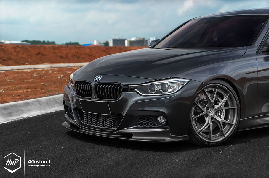 Solid Performer Bmw F30 335i On Hre