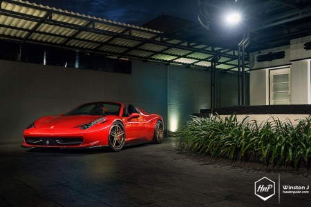458adv1gold-01 (Artisan // Novitec Rosso Ferrari 458 Spider on ADV.1)