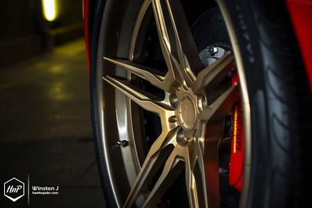 458adv1gold-11 (Artisan // Novitec Rosso Ferrari 458 Spider on ADV.1)