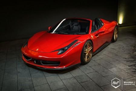 458adv1gold-14 (Artisan // Novitec Rosso Ferrari 458 Spider on ADV.1)