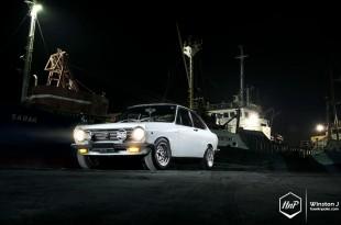 datsun-11 (At Nightfall // The 1968 Datsun Sunny Coupe)