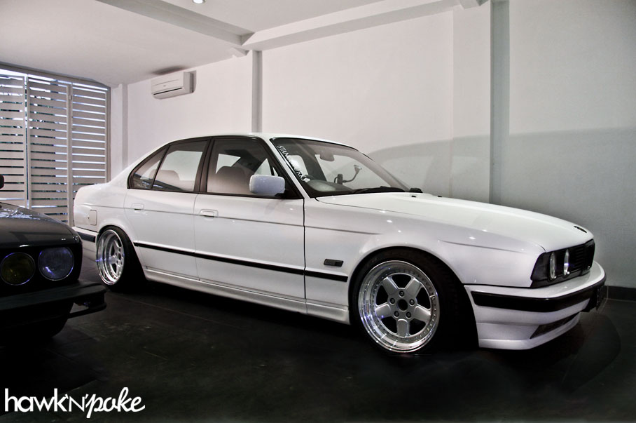 Stance Off White E34 5 Series