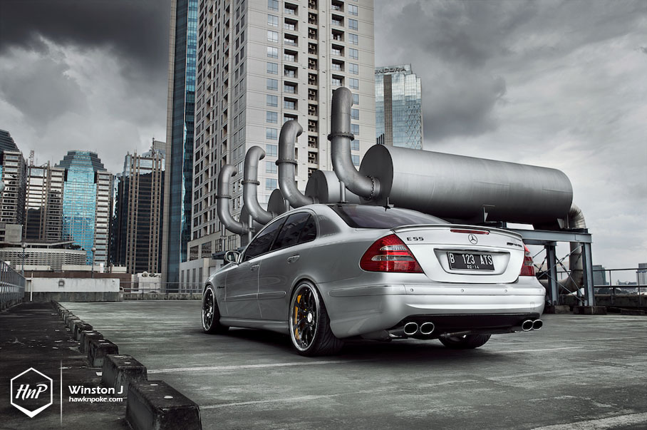 Roller Coaster Ride // Eurocharged 700HP E55 AMG on Radenergie