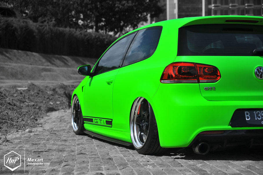 full force benny s k04 aired out gti on work wheels. Black Bedroom Furniture Sets. Home Design Ideas