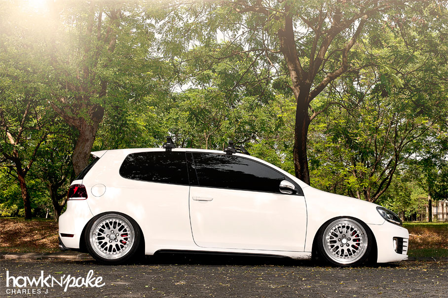 Stance Off Bagged Ccw Mk6 Gti