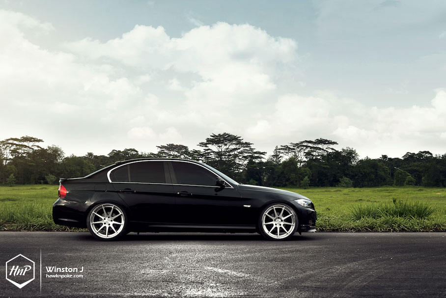 Super Style Han S Bmw E90 On Bc Forged