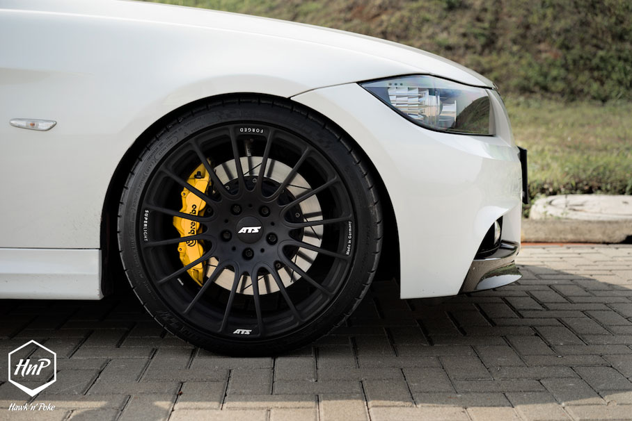 Sophistication Evolved Iwan S 3 Series E90 On Ats Wheels