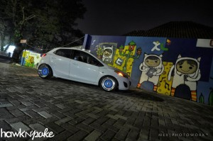 mazda2bbs1 (F*ck Your Fake Wheels // Mazda 2)