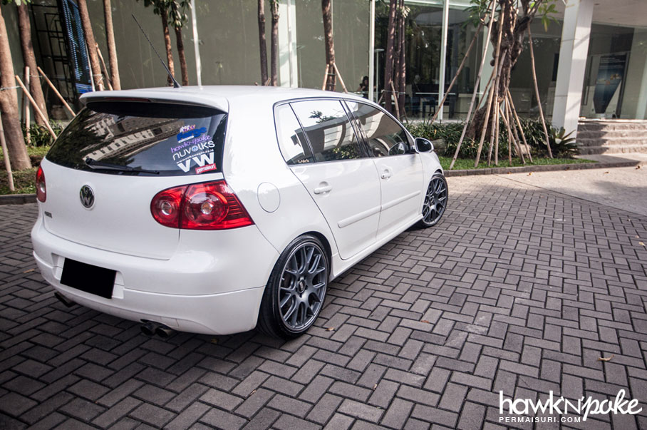 Permaisuri Thursday Gti Mkv On Bbs Ch R