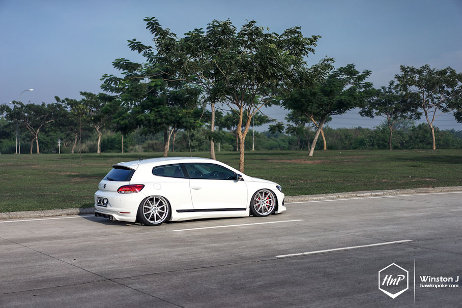 Global Influence Scirocco On Work Wheels