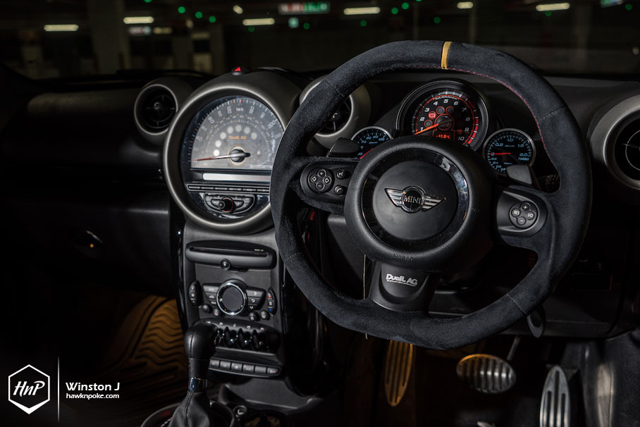 Titan // DuelL AG MINI Countryman on Volk Racing
