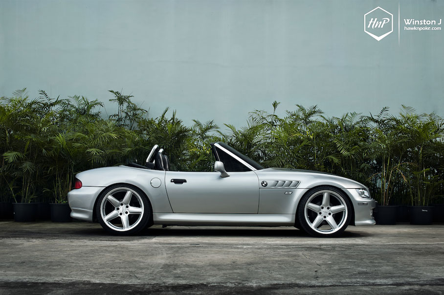Impeccable Nico S Bmw Z3 On Ac Schnitzer