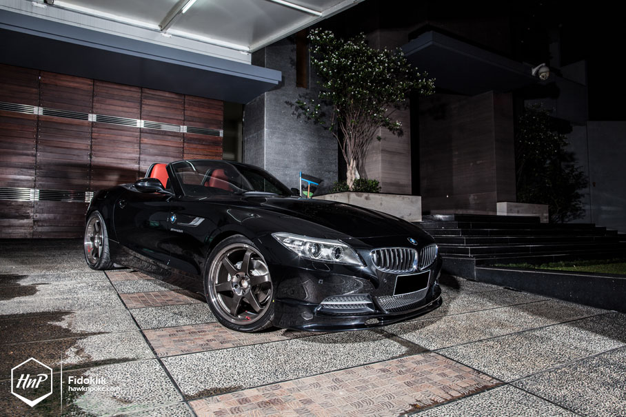 Proper Speedster Bmw Z4 On Volk Racing